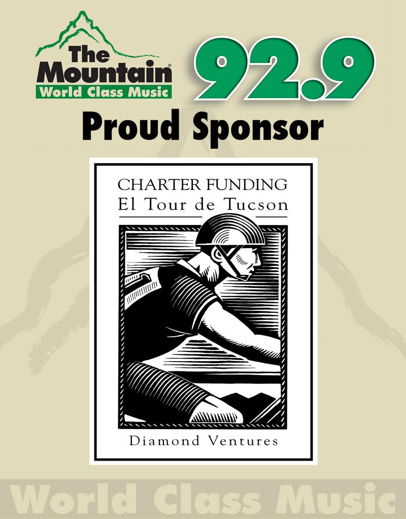 92.9 The Mountain - El Tour de Tucson