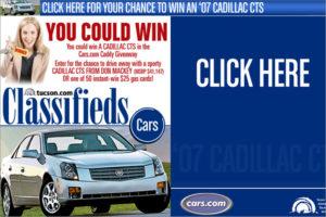 TNI Cars.com Cadillac Giveaway