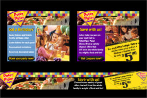 Peter Piper Pizza Banner Ads