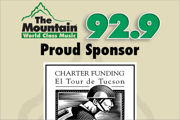 92.9 The Mountain - El Tour de Tucson