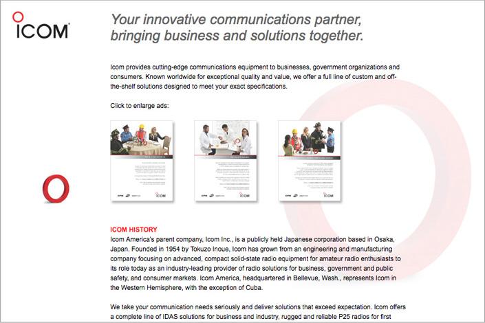 Icom Radio Solutions