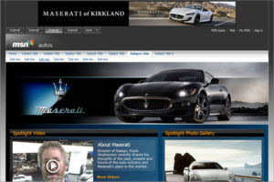 MSN Autos - Maserati Center