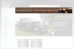 MSN Autos - Pebble Beach Concours d'Elegance