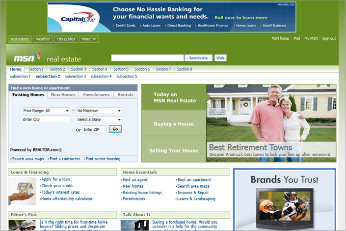 MSN Real Estate