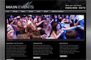 Main Events Website