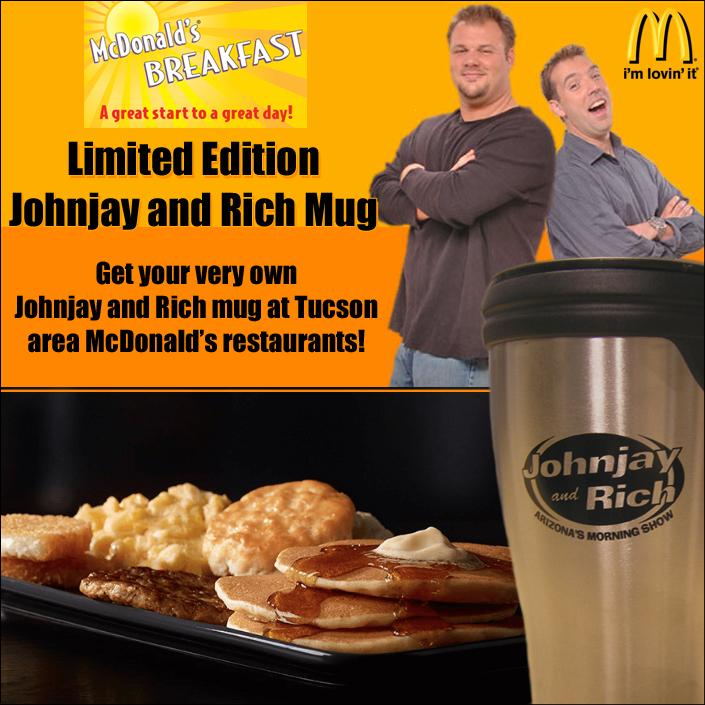 Johnjay and Rich McDontald's Breakfast Mug