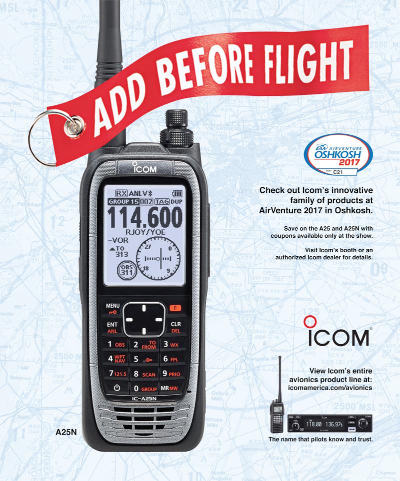 Icom A25N Ad
